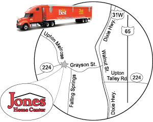 Jones Home Center Location