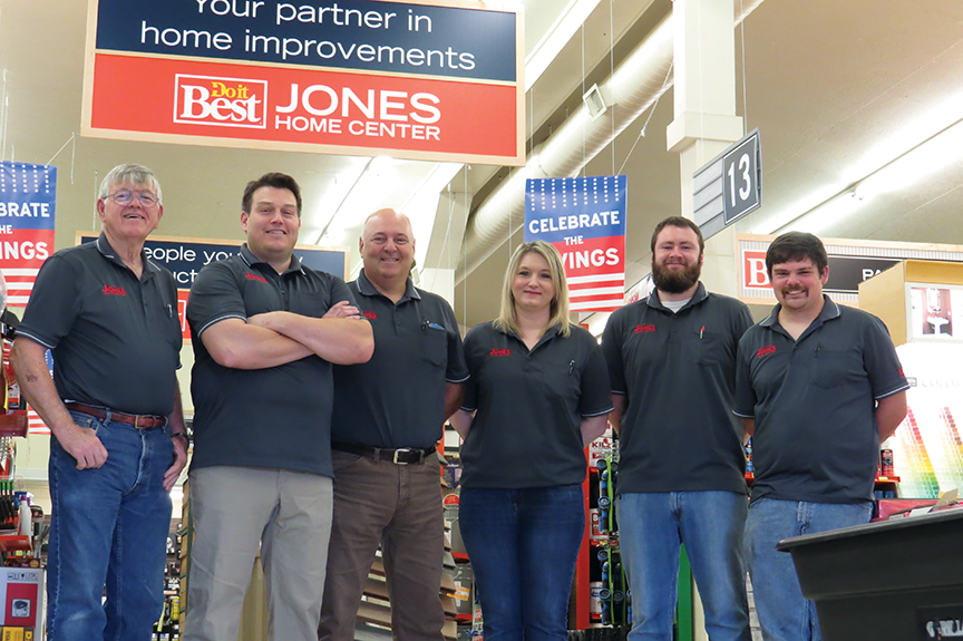 Jones Home Center Staff