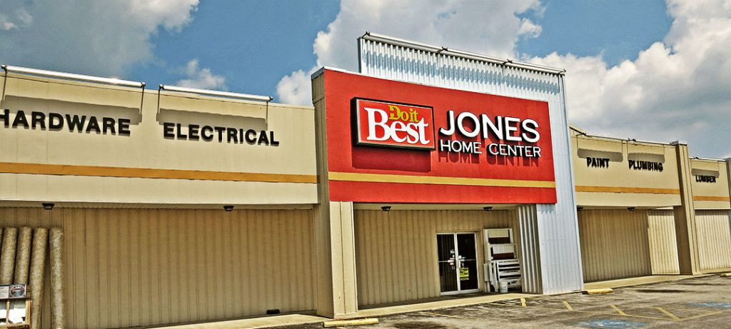 Jones Home Center Projects