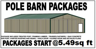 Pole Barn Packages Upton KY