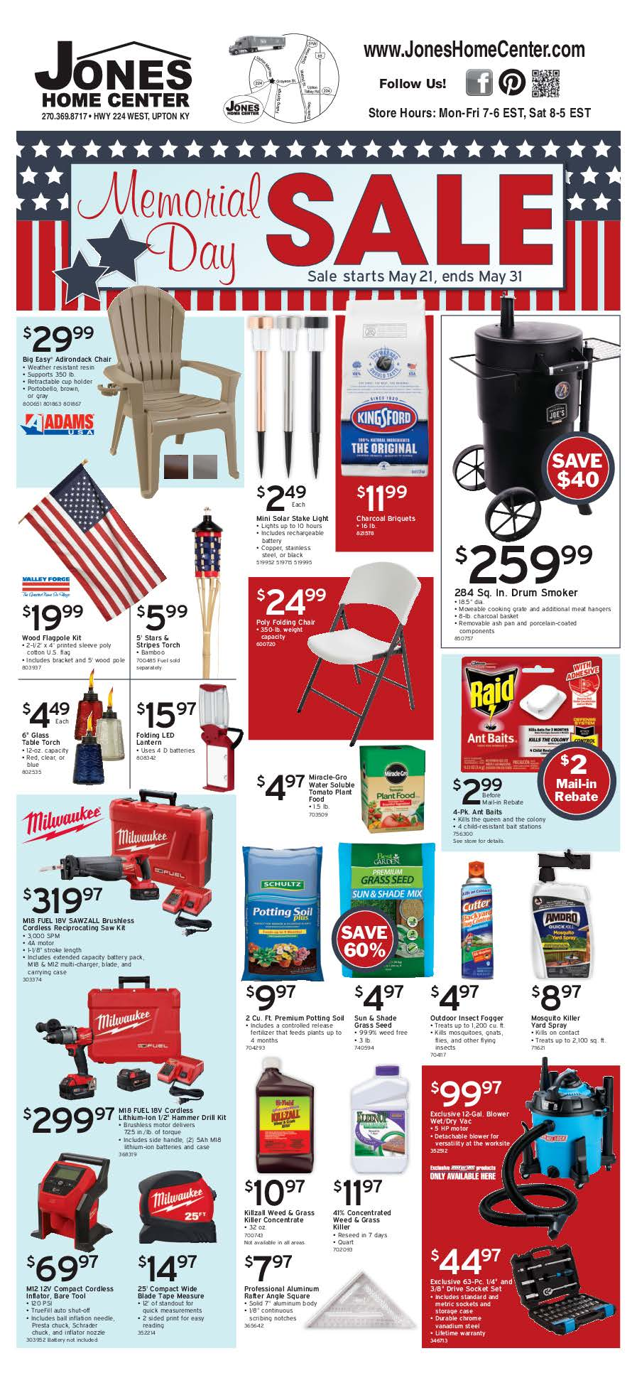 Memorial Day Sale Page 1