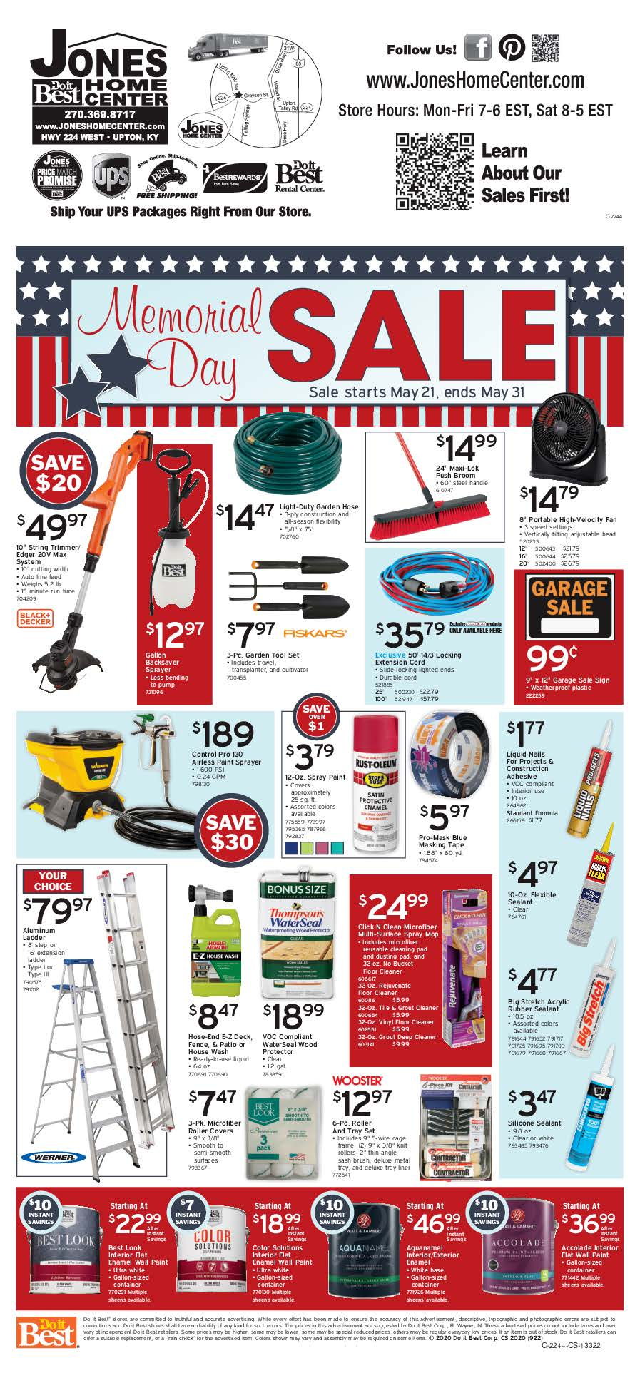Memorial Day Sale Page 2